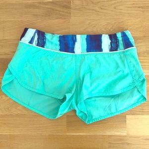 Like New Lululemon Speed Shorts